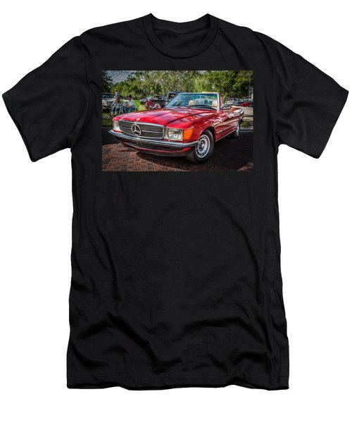 1984 Mercedes 500 Sl Painted  Men's T-Shirt (Athletic Fit)