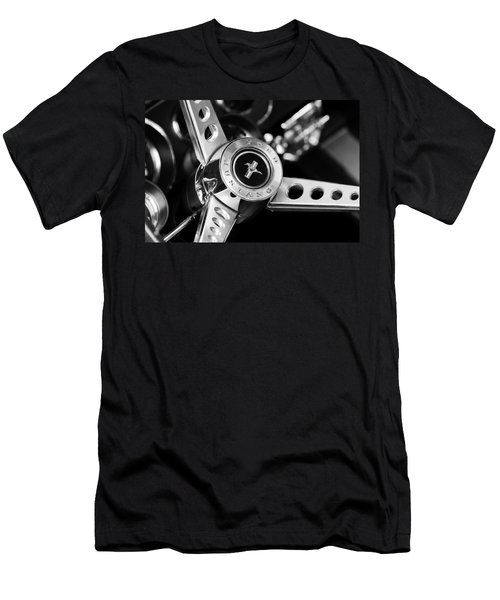 1969 Ford Mustang Mach 1 Steering Wheel Men's T-Shirt (Athletic Fit)
