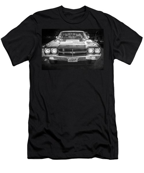 1970 Chevy Chevelle 454 Ss Bw   Men's T-Shirt (Athletic Fit)