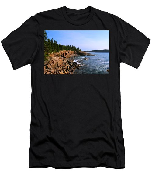 Acadia Coast Men's T-Shirt (Athletic Fit)