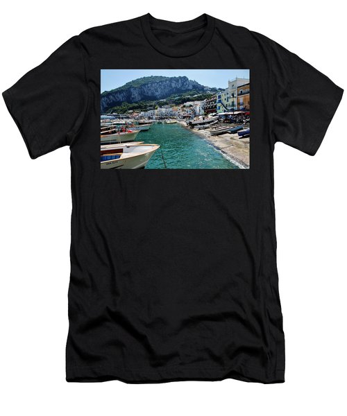 Arrival To Capri  Men's T-Shirt (Athletic Fit)