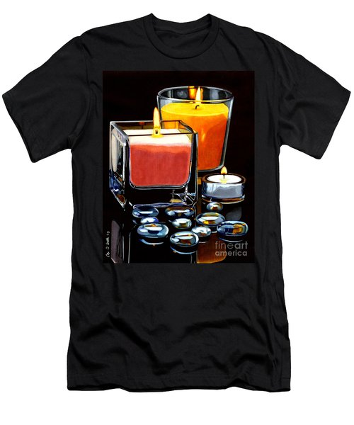 Beautiful Reflection Men's T-Shirt (Athletic Fit)