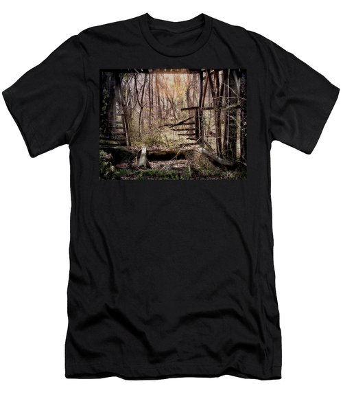Men's T-Shirt (Slim Fit) featuring the photograph Been There by Bonnie Willis