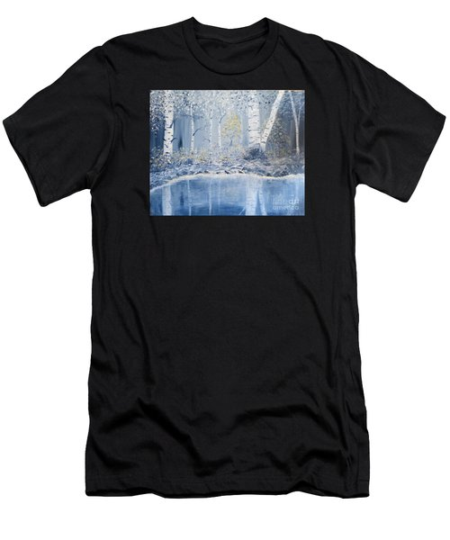 Birch Reflections Men's T-Shirt (Athletic Fit)