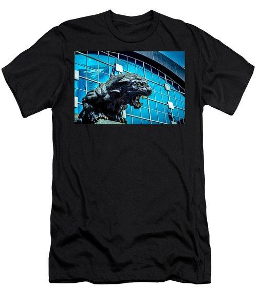 Black Panther Statue Men's T-Shirt (Athletic Fit)