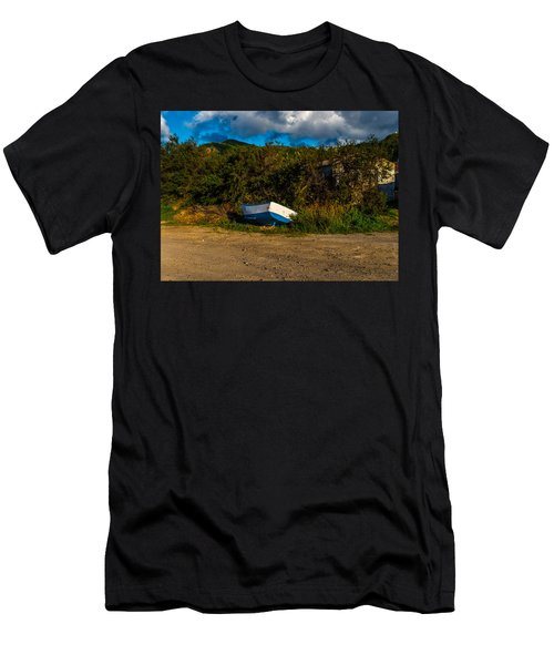 Boat At Rest Men's T-Shirt (Athletic Fit)