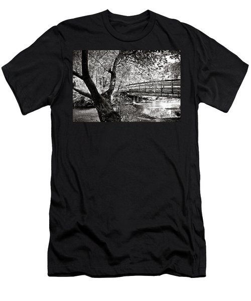 Bridge At Ellison Park Men's T-Shirt (Athletic Fit)