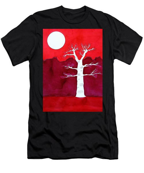 Canyon Tree Original Painting Men's T-Shirt (Athletic Fit)
