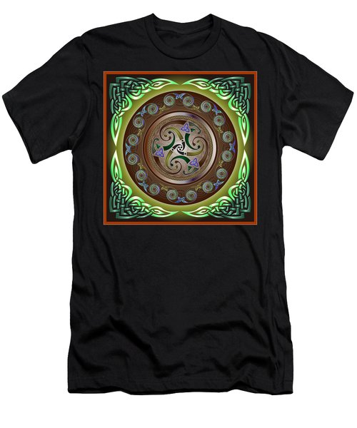 Celtic Pattern Men's T-Shirt (Athletic Fit)