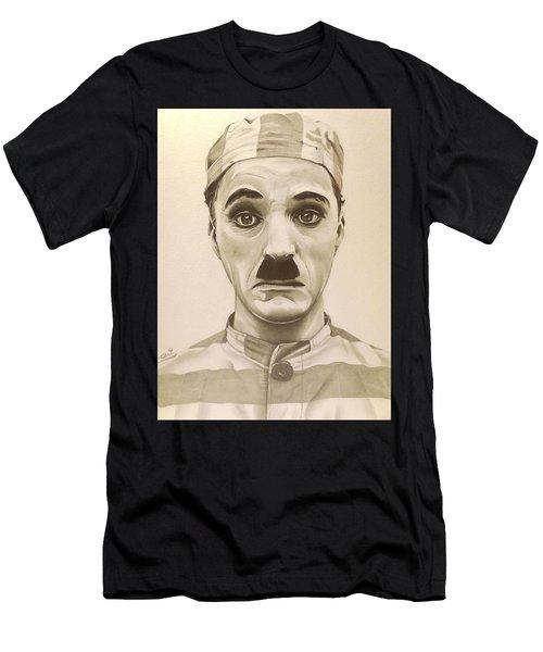 Vintage Charlie Chaplin Men's T-Shirt (Athletic Fit)