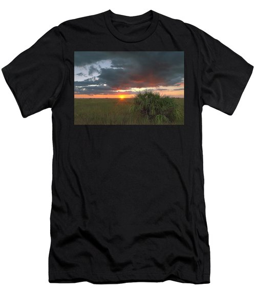 Chekili Sunset Men's T-Shirt (Athletic Fit)