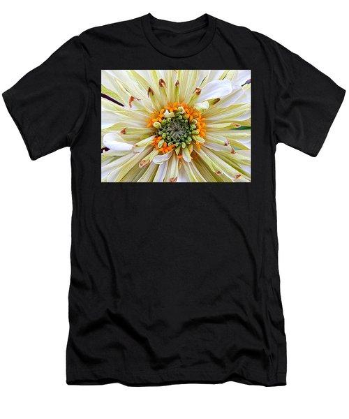 Chrysanthemum Fall In New Orleans Louisiana Men's T-Shirt (Athletic Fit)