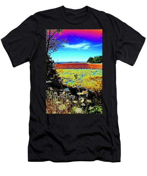 Coos Bay Wild Flowers Men's T-Shirt (Athletic Fit)