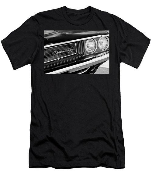 Dodge Challenger Rt Grille Emblem Men's T-Shirt (Athletic Fit)