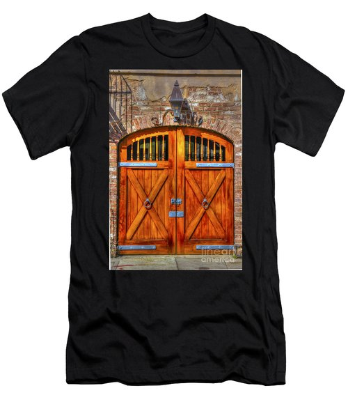 Doors Of Charleston Men's T-Shirt (Athletic Fit)