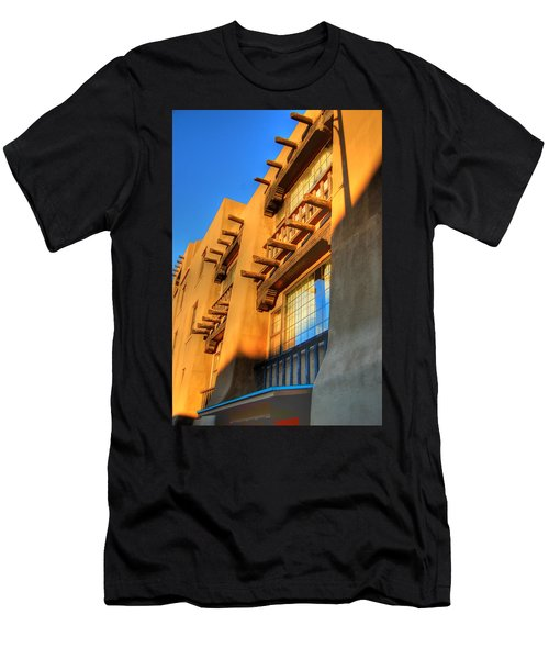 Downtown Santa Fe Men's T-Shirt (Athletic Fit)