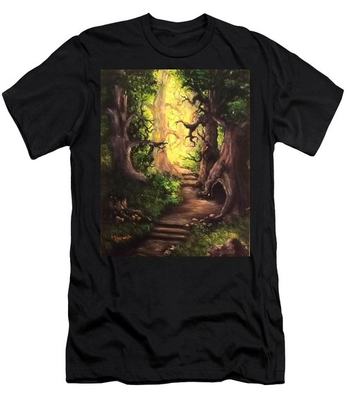 Druid Forest Men's T-Shirt (Athletic Fit)