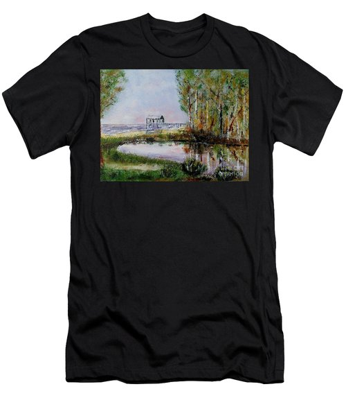 Fairhope Al. Duck Pond Men's T-Shirt (Athletic Fit)