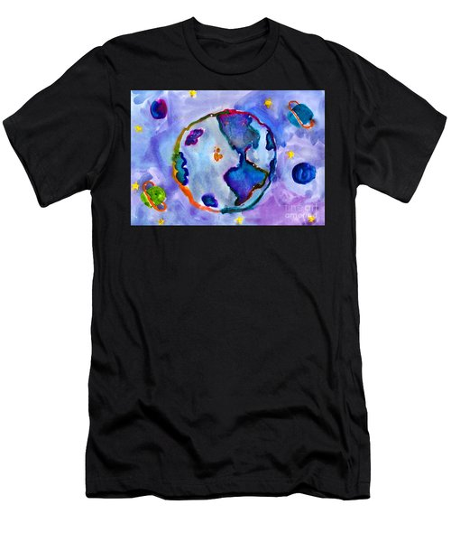 Earth Men's T-Shirt (Athletic Fit)