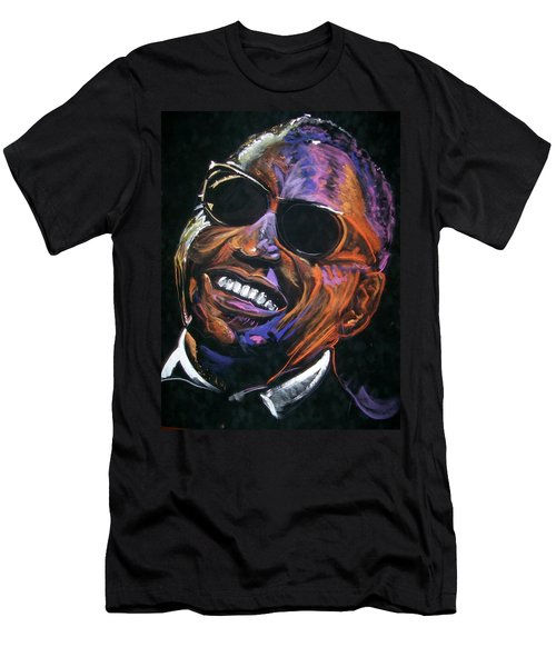 electric Ray Charles Men's T-Shirt (Athletic Fit)