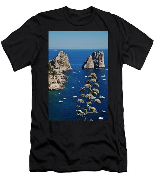 Faraglioni In Capri Men's T-Shirt (Athletic Fit)