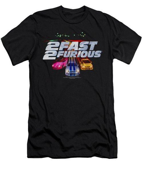 2 Fast 2 Furious - Logo Men's T-Shirt (Athletic Fit)