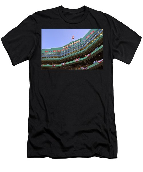 Fenway's 100th Men's T-Shirt (Slim Fit) by Joann Vitali