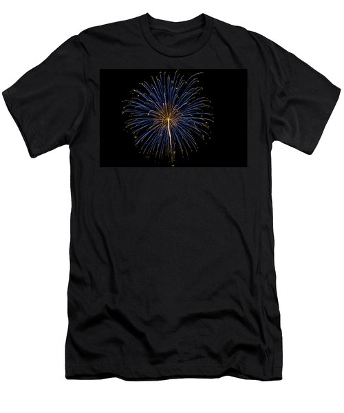 Fireworks Bursts Colors And Shapes Men's T-Shirt (Athletic Fit)
