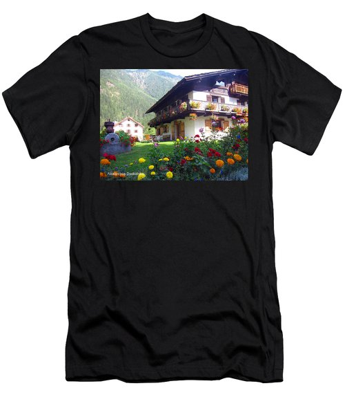 Flowery House Men's T-Shirt (Athletic Fit)