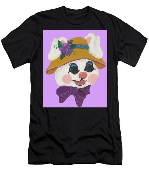 Funny Bunny Men's T-Shirt (Athletic Fit)