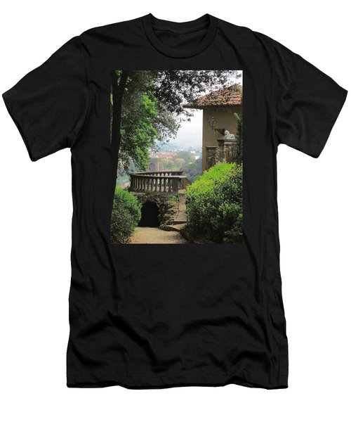 Garden View Men's T-Shirt (Athletic Fit)