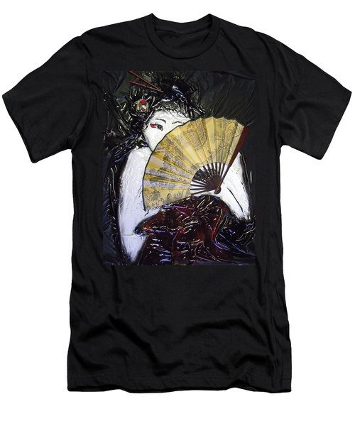 Geisha Girl Men's T-Shirt (Athletic Fit)