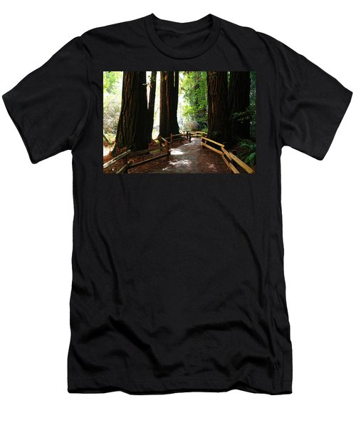 Giant Redwoods Men's T-Shirt (Athletic Fit)