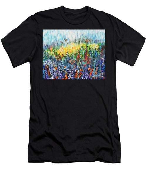 Glowy Clearing Men's T-Shirt (Athletic Fit)