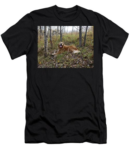 Happiness Is Men's T-Shirt (Athletic Fit)
