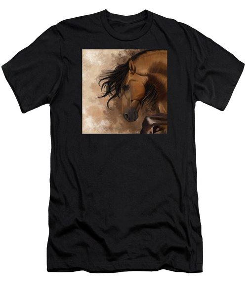 Hidden Sadness Men's T-Shirt (Slim Fit) by Kate Black