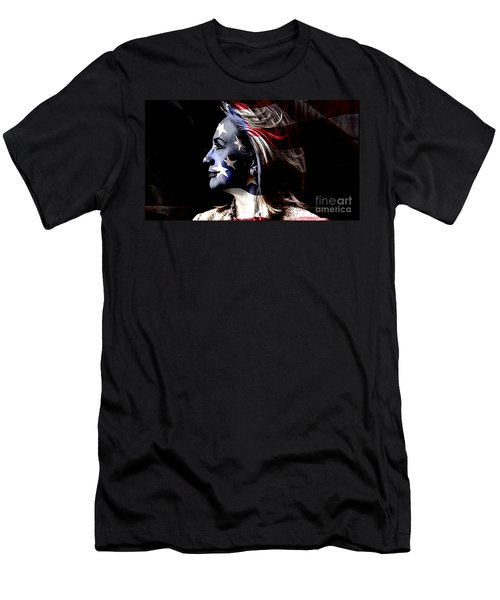 Hillary 2016 Men's T-Shirt (Slim Fit) by Marvin Blaine