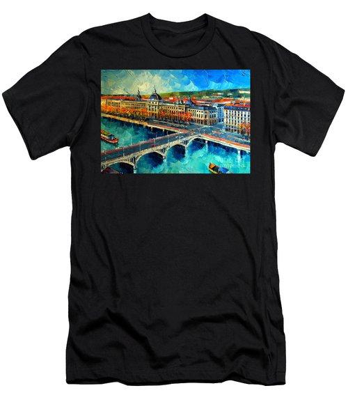 Hotel Dieu De Lyon Men's T-Shirt (Athletic Fit)