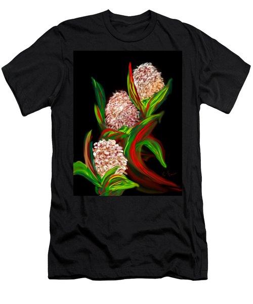 Hyacinth Men's T-Shirt (Slim Fit) by Christine Fournier