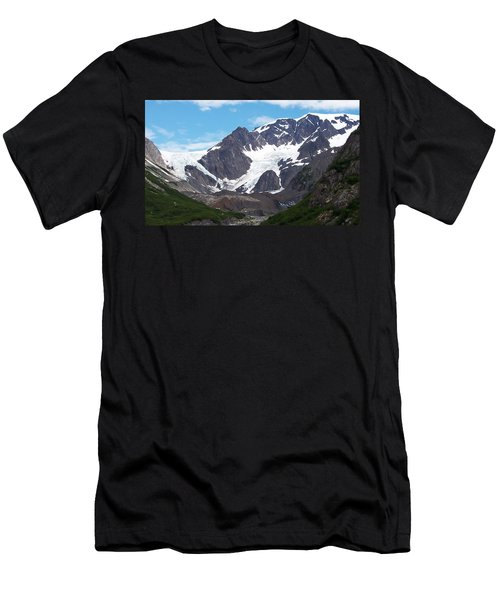 Men's T-Shirt (Slim Fit) featuring the photograph Ice And Snow by Aimee L Maher Photography and Art Visit ALMGallerydotcom