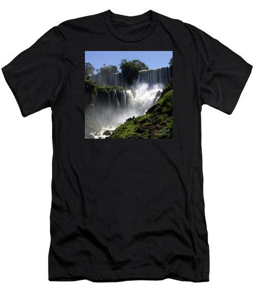 Iguassu Falls Men's T-Shirt (Athletic Fit)