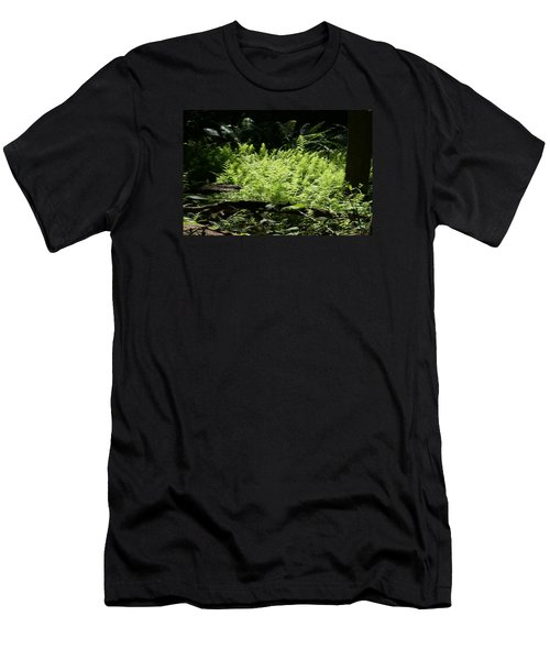 Men's T-Shirt (Slim Fit) featuring the photograph In The Woods by Heidi Poulin