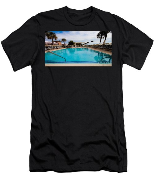 Infinity Pool Men's T-Shirt (Athletic Fit)