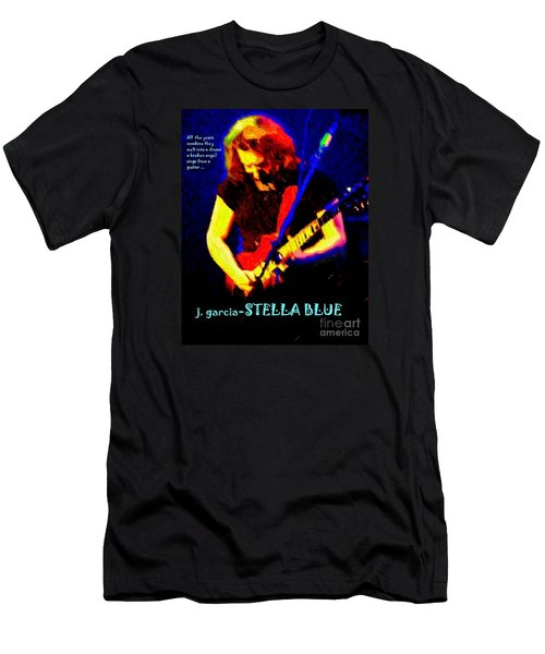 Men's T-Shirt (Slim Fit) featuring the photograph Dust Off Those Rusty Strings by Susan Carella