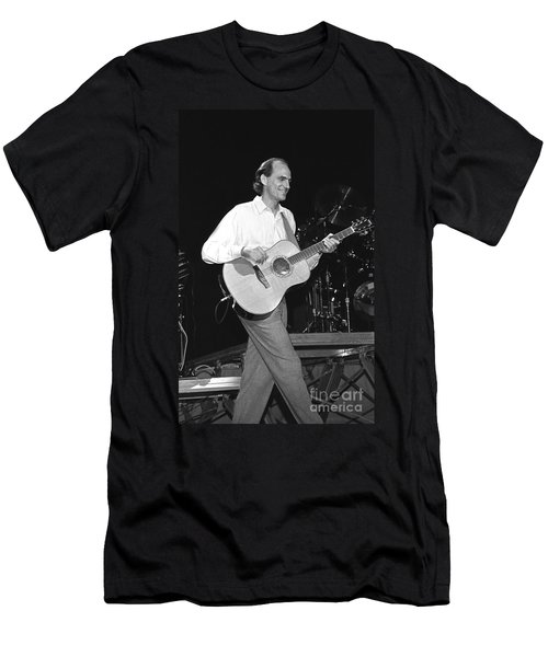 Musicians James Taylor Men's T-Shirt (Athletic Fit)