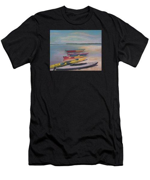 Kayaking Trip Men's T-Shirt (Athletic Fit)