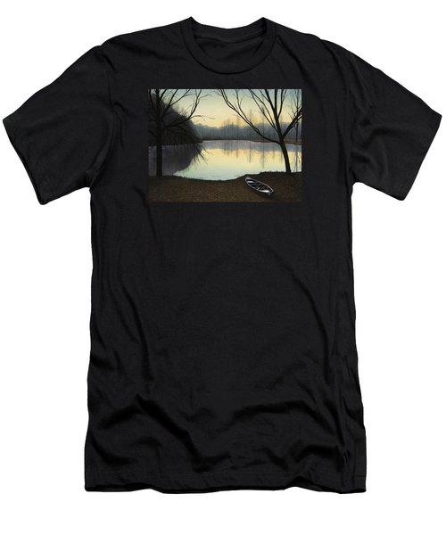 Lake Lene' Morning Men's T-Shirt (Athletic Fit)
