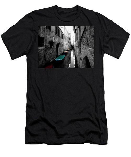 Men's T-Shirt (Slim Fit) featuring the photograph L'aqua Magica by Micki Findlay