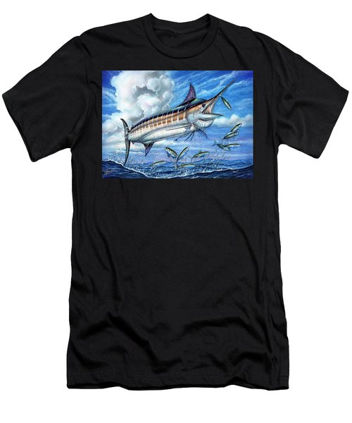 Marlin Queen Men's T-Shirt (Athletic Fit)