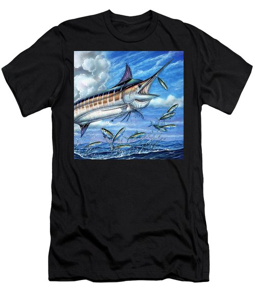 Marlin Queen Men's T-Shirt (Athletic Fit)